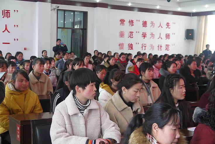 Teilnehmer des Kurses in Gansu