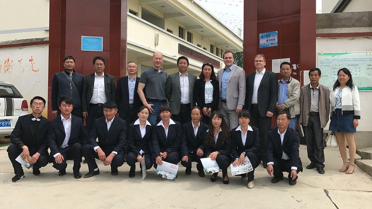 Gruppenfoto Yunnan