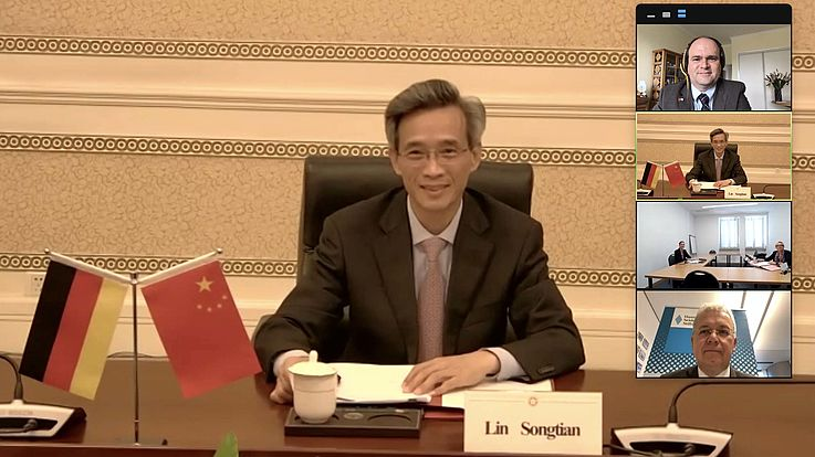 Chinesische Freundschaftsgesellschaft und Hanns-Seidel-Stiftung