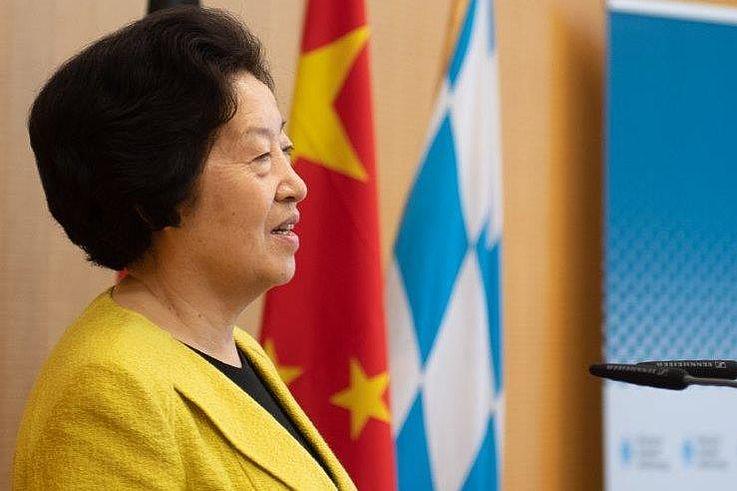 国务院副总理孙春兰到访慕尼黑