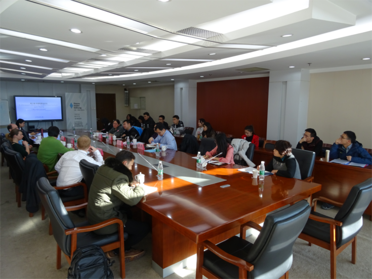 In einem Workshop wurde das Thema mit Pekinger Staatsanwälten weiter vertieft