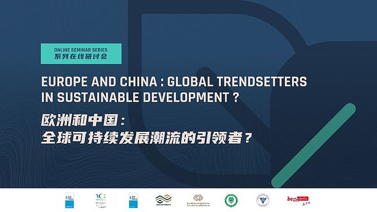 Europe and China: Global Trendsetters in Sustainable Development?
