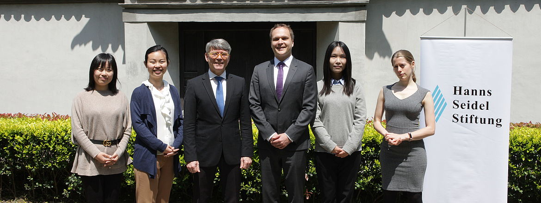 CHEN Zhuotao, HUANG Chenyi, Dr. Bernd Seuling, Janne Leino, FU Weijia