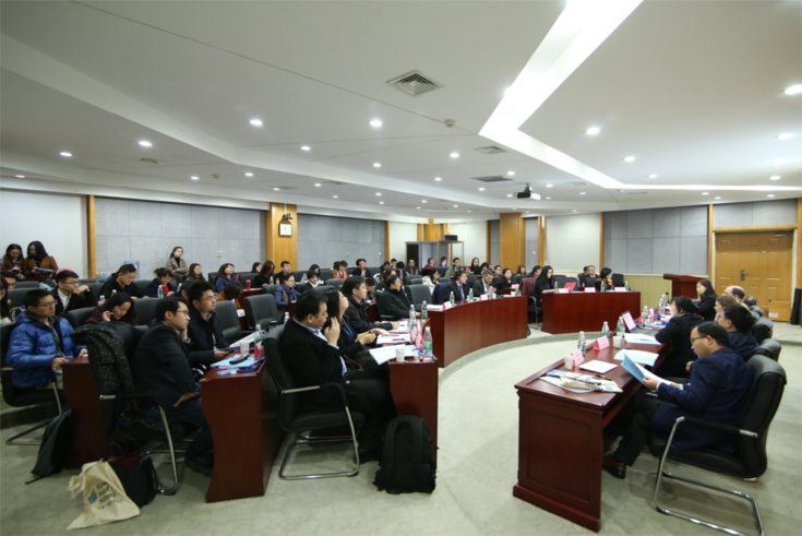 Unter den Teilnehmern waren Vertreter von Gerichten und Staatsanwaltschaften